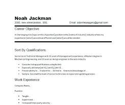 Samples Of Resume Objective Great Examples Career Sample Elegant