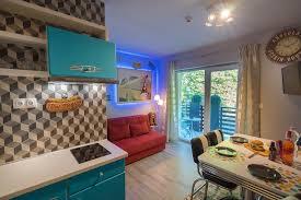 retro amerika märchenhafte 50er jahren appartementhause