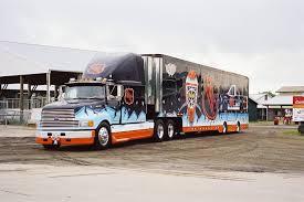 100 Jayski Trucks NHL Hauler Transporter Ford Aeromax Race Transporters Haulers