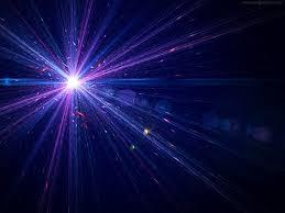 Laser lights effect