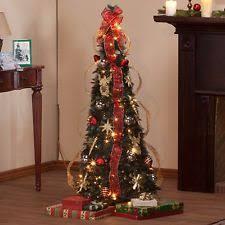 8ft Christmas Tree Ebay by Pre Decorated Christmas Tree Ebay
