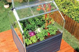 Suncast Vertical Storage Shed Bms4500 by Amazon Com Palram Plant Inn Raised Garden Bed Greenhouse Cold