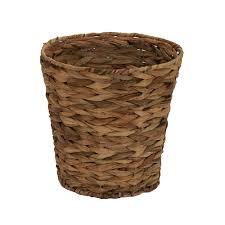 gewebt wasserhyazinthe korb papierkorb für badezimmer schlafzimmer buy wicker abfall korb korb papier abfall korb günstige wicker körbe product on