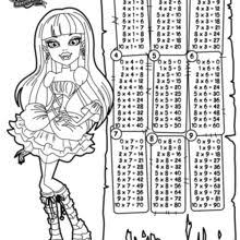 Monster High Coloring Pages Free Online Games Videos For Kids