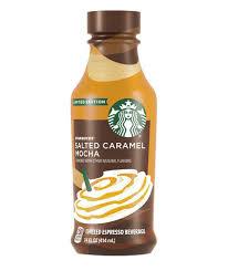 Salted Caramel Mocha Iced Latte Starbucks