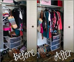 Organizing A Small Closet As