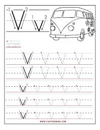 Uppercase Handwriting Worksheets AZ By Letter Handwriting