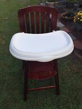 Eddie Bauer Wood High Chair Cover by Eddie Bauer High Chair Ebay