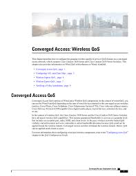 Converged Access: Wireless QoS Implementing Cisco Qos Model To End Users Network Eeering Configure Voip In Cisco Packet Tracer Youtube Cp8841k9 Unified Ip Colour Display Telephone Phone Cisco Spa504g 4line With 2 Port Switch Poe And Lcd Phone 3905 Is Not Working Hp A5120e Poe Switches 300115 Switched Networks Quality Of Bcmsnbuilding Converged Multilayer 23799065 Ccnp Semester 7 Moduel Service Sg25010p Gigabit Smart 62w Spa501g 4 How Basic Ipphone Cfiguration Grandstream Gxp1405 Voice Vlan Tag Cfiguration Using 8845