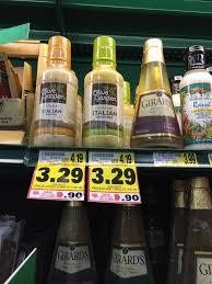 Olive Garden Salad Dressing Sale Coupon The Harris Teeter Deals