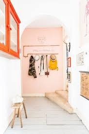 Coral Colored Decorative Accents by Best 25 Pink Accent Walls Ideas On Pinterest Red Brick Walls