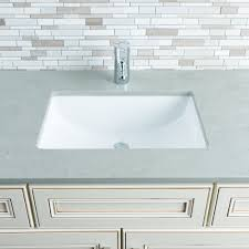 Kohler Verticyl Rectangular Undermount Sink by Undermount Bathroom Sinks Rectangular Best Bathroom Decoration