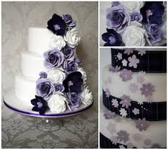 Download roses purple wedding cakes
