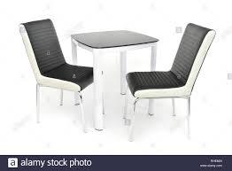 küche esszimmer möbel set tisch und zwei stühle der