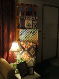 quilt display wall mounted quilt rack plans download free