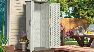 Suncast Garden Shed Taupe by 22 Cu Ft Vertical Shed Suncast Corporation