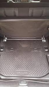Husky Liners Weatherbeater Floor Liners by Husky Wrangler Rear Cargo Liner 20541 11 17 Wrangler Jk 2 Door