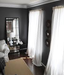 I Used To Have Similar Curtains In Here But When Redecorated Went With These White Linen Ones After Made The Change Dining Room Didnt