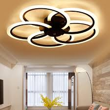 neue moderne led deckenleuchte wohnzimmer schlafzimmer weiß schwarz aluminium runde led deckenleuchte laras de techo