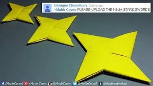 How To Make A Paper Ninja Star Origami Easy For Beginners 2
