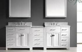 double bathroom vanities sets with top sink
