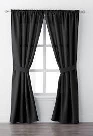 mainstays bennett 84 rod pocket window curtain drapery panel set