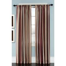 Navy And White Vertical Striped Curtains by Navy Blue White Striped Curtains And Brown Tan Beautiful Curtain