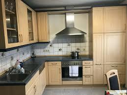 einbauküche gebraucht l form mit geräten