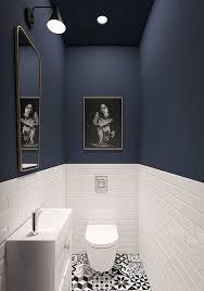 starke kontraste in kleinen bädern kleine badezimmer