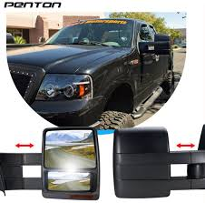 Buy Penton® 2003-2006 Ford F150 Towing Mirror, Power, Heated, LED ... 0708 Ford F150 Lincoln Mark Lt Pickup Truck Set Of Side View Power Flat Black Cap Mirrors Pair Left Right For 11500 Custom Towing Ship From America Walmartcom Buy Penton 32006 Mirror Heated Led Adding Factory Fold Telescoping Tow To 0914 Drivers Manual Pedestal Type Brock Supply 8097 Fd Pickup Manual Mirror Black Steel 5x8 Swing 19992016 Super Duty Rear Inner Door Bottom Cab Vintage Original 671972 Mirrors Left And Right Duty On 9296 Body Style Enthusiasts Forums Pics Trailer Forum Community Amazoncom Scitoo Led Turn Signal Lights Chrome