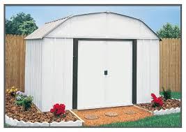 arrow galvanized steel storage shed 10x8 arrow yorktown shed yt1014