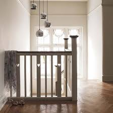 arts and crafts semi house tour banisters upstairs landing and