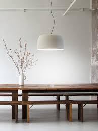 djembé designort esstisch beleuchtung pendellen