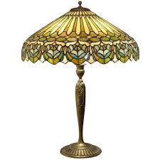 Duffner And Kimberly Lamp Base by Duffner And Kimberly Leaded Glass Table Lamp At 1stdibs