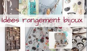 idées rangement bijoux à faire soi même organisation maison