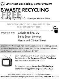 Nyc Christmas Tree Disposal by Cobble Hill Association