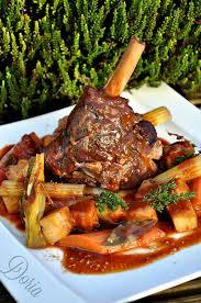 cuisiner souris d agneau au four souris d agneau et céleri rôti la cuisine de doria