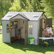 Suncast Alpine Shed Extension by This Shed Would Make A Great Playhouse For Evie Exb Pinterest