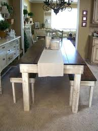 Farmhouse Style Table Attractive Inspiration Dining Room Tables Styles Rustic Homemade Farm