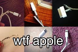 Dear Apple We Need To Talk About Your Ridiculous iPhone Chargers