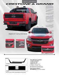 GRAND TAILGATE Chevy 2017 Colorado Truck 2015-2018| FastCarAccessories 2014 15 16 Toyota Tundra Stamped Tailgate Decals Insert Decal Cely Signs Graphics Michoacan Mexico Truck Sticker And Similar Items Ford F150 Rode Tailgate Precut Emblem Blackout Vinyl Graphic Truck Graphics Wraps 092012 Dodge Ram 2500 Or 3500 Flames Graphic Decal Fresh Northstarpilatescom Dodge Ram 4x4 Tailgate Lettering Logo 1pcs For 19942000 Horses Cattle Amazoncom Wrap We The People Eagle 3m Cast 10