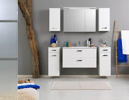 bad waschbeckenunterschrank bologna 2 türig 70 cm breit hochglanz weiß weiß