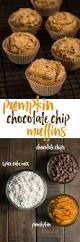 Cake Mix And Pumpkin Muffin Recipe by Pumpkin Chocolate Chip Muffins Kristen U0027s Fixins