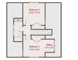 Craftsman Style Floor Plans Bungalow by Craftsman Style House Plan 3 Beds 2 5 Baths 1584 Sq Ft Plan 461