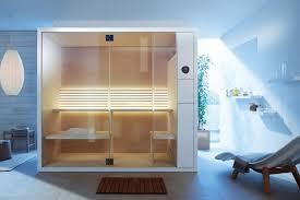 bad sauna planen beachten modernes design kabine liege