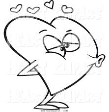 Pin Kissing Clipart Black And White 8