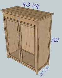 Diy Wood Cabinet Plans by Ana White Build A Hemnes Linen Cabinet Free And Easy Diy