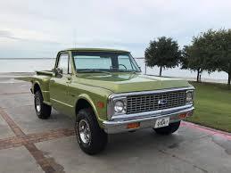 100 1972 Chevy Truck 4x4 Chevrolet K10 For Sale 2188505 Hemmings Motor News