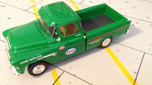 AMT '55 Chevy Cameo Gas Station Shop Truck. - Under Glass: Pickups ...