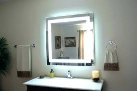 led lighted mirror wafibas